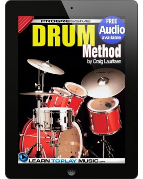 Drum Lessons - Teach Yourself How to Play Drums (Free Audio Available)