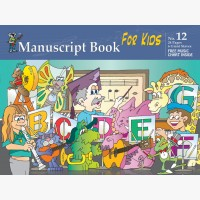 Progressive Manuscript Book 12 - Giant Staves for Kids