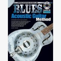 Progressive Blues Acoustic Guitar Method