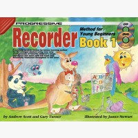 Progressive Recorder Method for Young Beginners - Book 1